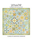 Carolyn Manning Designs - Flower A Day Collection - Yellow THUMBNAIL