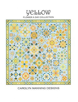 Carolyn Manning Designs - Flower A Day Collection - Yellow MAIN