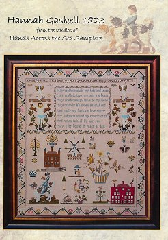 Hands Across The Sea Samplers - Hannah Gaskell 1823 MAIN