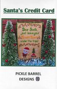 Pickle Barrel Designs - Santa's Credit Card THUMBNAIL