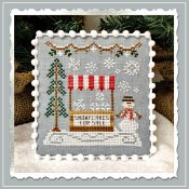 Country Cottage Needleworks - Snow Village 3 - Snowflake Stand THUMBNAIL