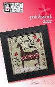 Heart In Hand Needleart - Patchwork Deer THUMBNAIL
