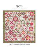Carolyn Manning Designs - Flower A Day Collection - Red THUMBNAIL