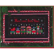 Pickle Barrel Designs - Santa's Express Train THUMBNAIL