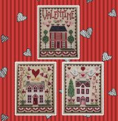 Waxing Moon Designs - Valentine House Trio THUMBNAIL
