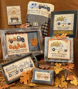 Sue Hillis Designs - Home For The Harvest MAIN