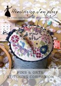 Heartstring Samplery - Pins & Orts Stitching Companion THUMBNAIL