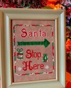 Pickle Barrel Designs - Santa Stop THUMBNAIL