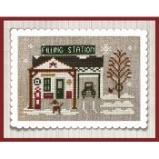 Little House Needleworks - Hometown Holiday Series - #20 Pop's Filling Station THUMBNAIL