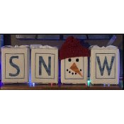 Needle Bling Designs - Frosty's Snow THUMBNAIL