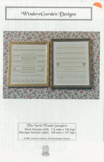 Window Farden Designs - The North Woods Sampler