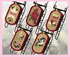 Country Christmas Sleds