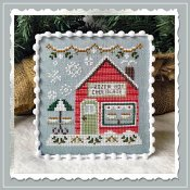 Country Cottage Needleworks - Snow Village 5 - Frozen Hot Chocolate Shop THUMBNAIL