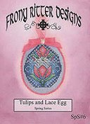 Frony Ritter Designs - Tulips and Lace Egg THUMBNAIL