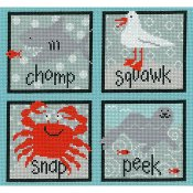 Imaginating - Sea Creatures Squares 3179 THUMBNAIL
