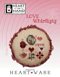 Heart In Hand Needleart - Love Whirligig MAIN