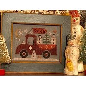 Homespun Elegance - Country Spirits Collection - Traveling Snowmen Truck THUMBNAIL