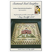 Scattered Seed Samplers - Mary Ratcliffe 1848 THUMBNAIL