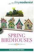 Tiny Modernist - Spring Birdhouses THUMBNAIL