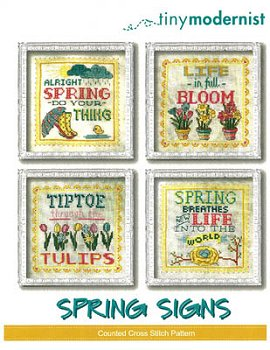Tiny Modernist - Spring Signs MAIN