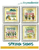 Tiny Modernist - Spring Signs THUMBNAIL