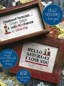 Amy Bruecken Designs - Hello Saturday - I Love You THUMBNAIL
