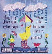 Sister Lou Stitches - Life Lessons...Puddles THUMBNAIL