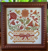 Carriage House Samplings - Blooming Basket THUMBNAIL
