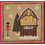 Pickle Barrel Designs - Christkindlmarkt Part 2 Glass Stand THUMBNAIL
