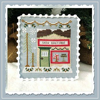Country Cottage Needleworks - Snow Village 7 - Snow Boutique MAIN