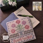 Summer House Stitche Workes - Ladies Garden Journal 1 - Sweet William THUMBNAIL