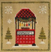 Pickle Barrel Designs - Christkindlmarkt Part 3 Ornament Stand THUMBNAIL