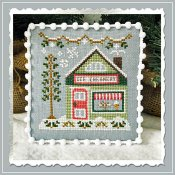 Country Cottage Needleworks - Snow Village 9 - Ice Creamery THUMBNAIL
