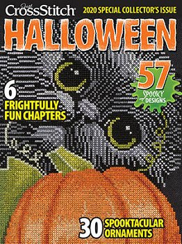 Just Cross Stitch 2020 Halloween Special Collector's Issue MAIN