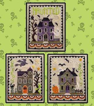 Waxing Moon Designs - Haunted House Trio MAIN
