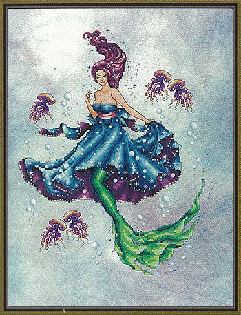 Cross Stitching Art - The Sea Maiden MAIN