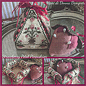 Mani Di Donna - Strawberry Petal Pincushion THUMBNAIL