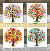 Tiny Modernist - Seasonal Trees THUMBNAIL