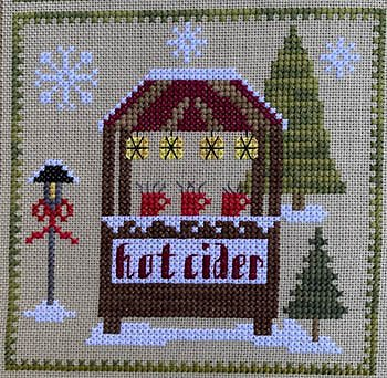 Pickle Barrel Designs - Christkindlmarkt Part 5 Hot Cider Stand MAIN