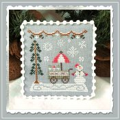 Country Cottage Needleworks - Snow Village 11 - Snow Cone Cart THUMBNAIL