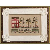 Country Cottage Needleworks - Trees and Bees THUMBNAIL