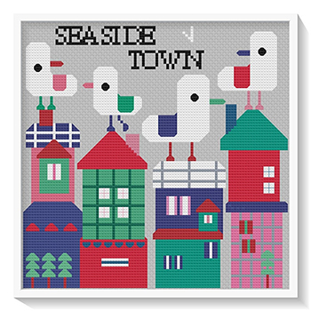 Susanamm Cross Stitch - Seaside Town MAIN