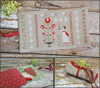 Pineberry Lane - Christmastime Sewing Roll MAIN