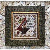 Quaker Dwelling Cross Stitch Chart by Kathy Barrick