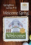 Cottage Garden Samplings - Springtime Series #4 - Welcome Spring THUMBNAIL