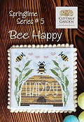 Cottage Garden Samplings - Springtime Series #5 - Bee Happy THUMBNAIL