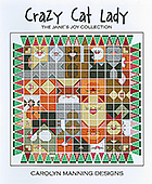 Carolyn Manning Designs - Jane's Joy Collection - Crazy Cat Lady THUMBNAIL
