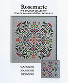 Carolyn Manning Designs - The Bouquet Collection - Rosemarie THUMBNAIL
