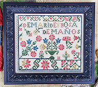 Hello From Liz Mathews - Spanish Rose Sampler THUMBNAIL