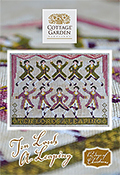 Cottage Garden Samplings - 12 Days of Christmas - Ten Lords A Leaping THUMBNAIL